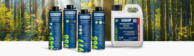 DINITROL Greentec Produkte