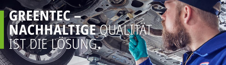 Nachhaltige Qualität ist die Lösung