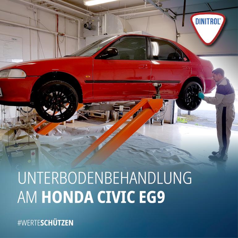 Unterbodenbehandlung Honda Civic