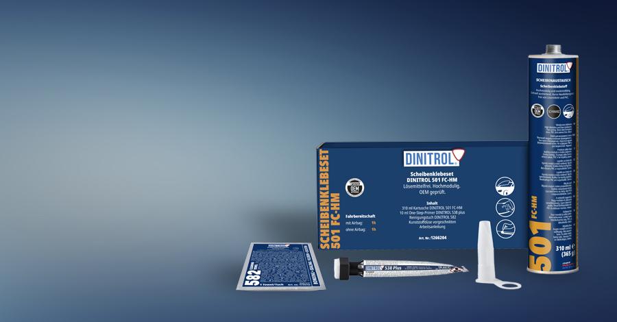 DINITROL Scheibenklebeset 501 FC-HM
