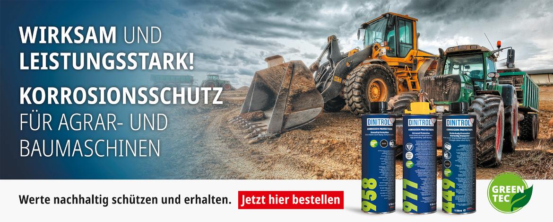 Korrosionsschutz für Agrar- und Baumaschinen